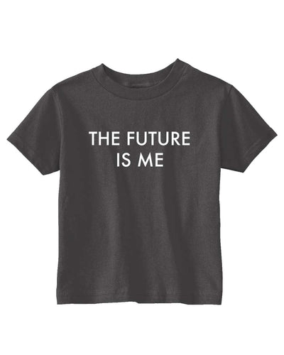 Funny T- Shirt for Kids The Future Is Me