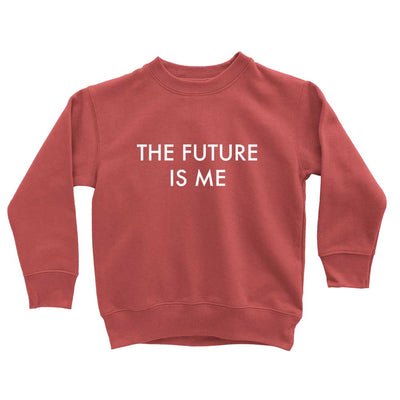 Funny Sweatshirt for Kids The Future Is Me