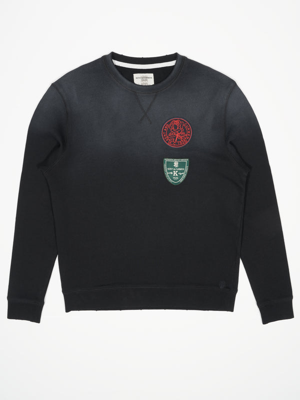 Vintage Wash Archive Badges Sweatshirt