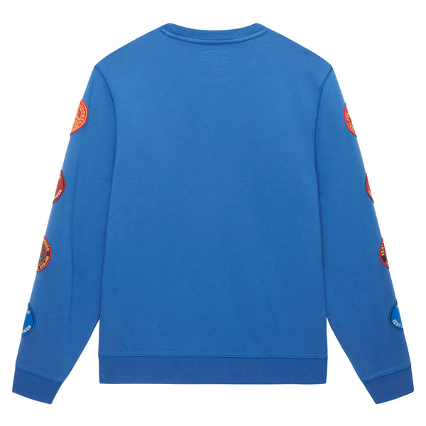 Badged Sleeve Sweatshirt