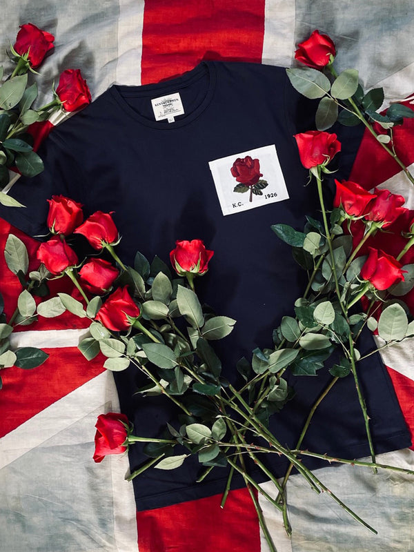 Exclusive Rose Embroidered T-Shirt