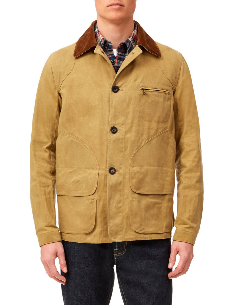 Waxed-Cotton Hunting Jacket