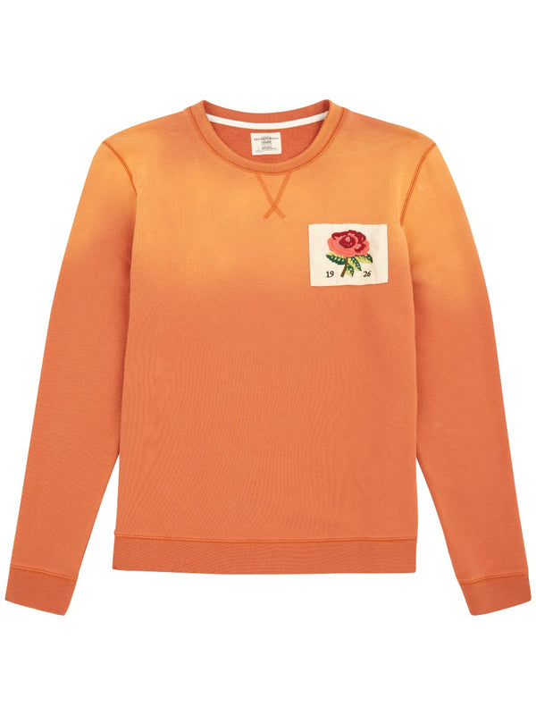 Rose Embroidered 1926 Sweatshirt