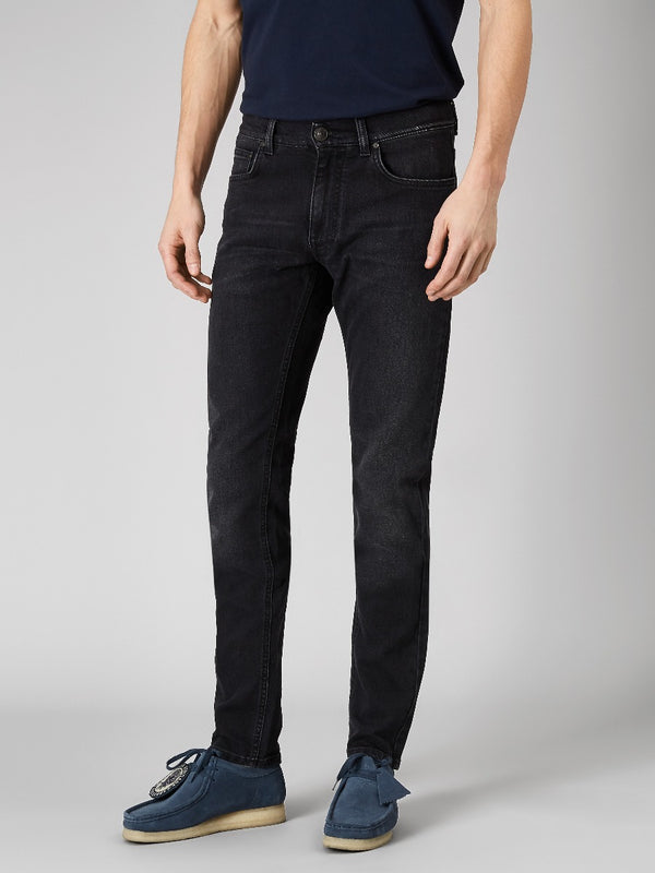 Black Slim Denim Jeans