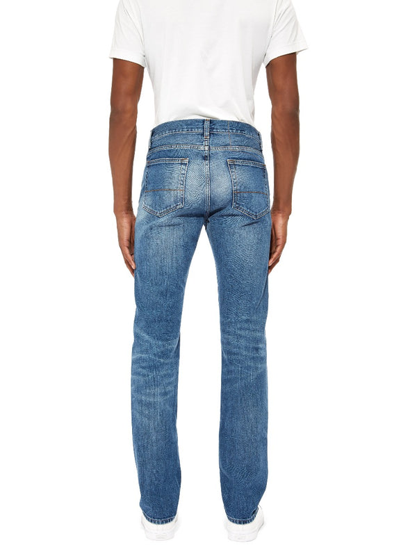 Blue Classic Washed Jeans