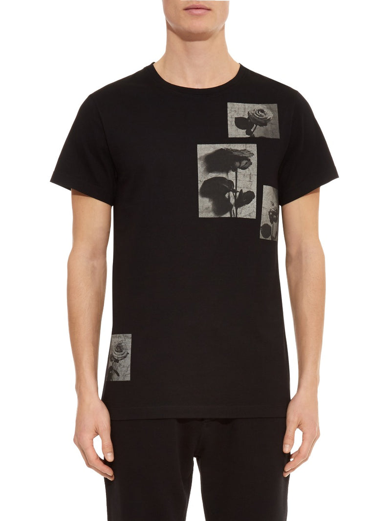 Photographic Rose Collage T-shirt