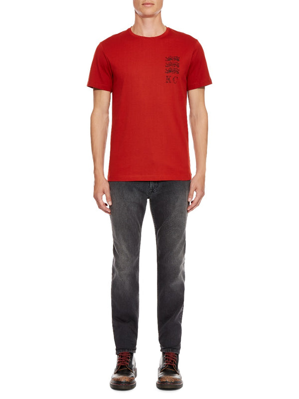 Three Lions Stamp T-shirt