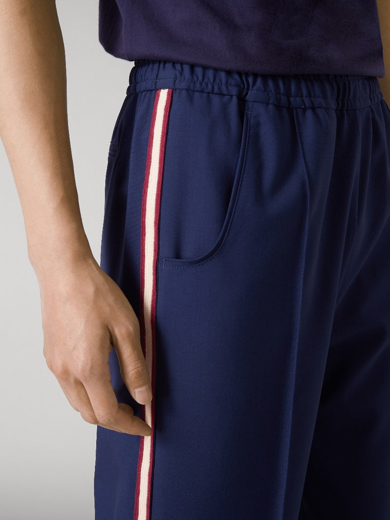 Sports Striped Cricket Trousers
