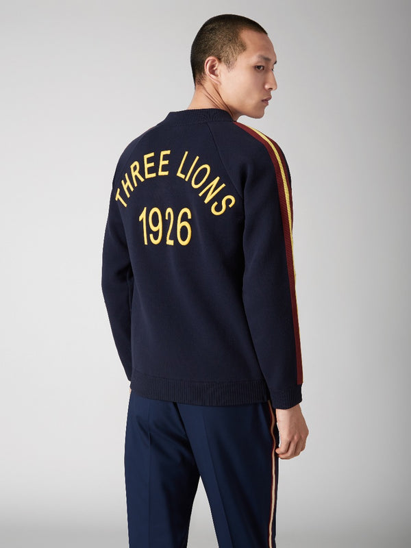 Three Lions Zipped Track Cardigan