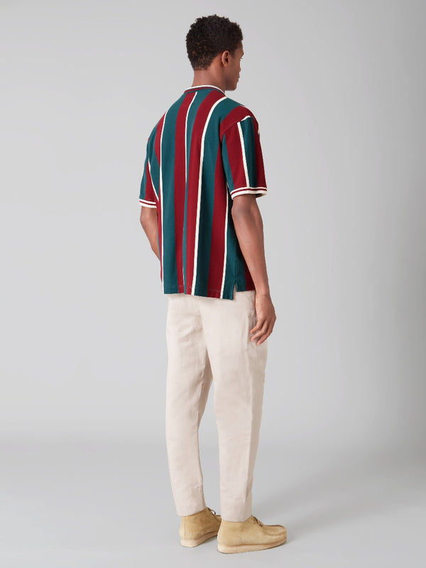 Striped Regatta Polo
