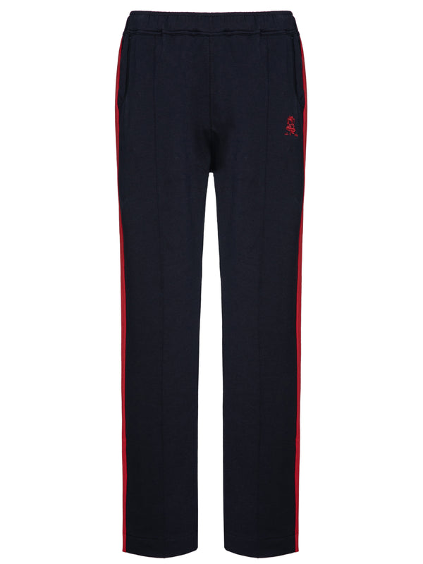 Navy Cotton Sweatpants