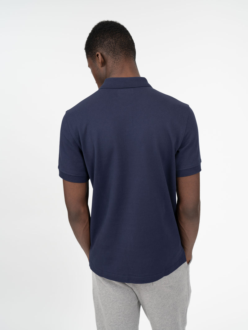 Signature Rose Patch Polo