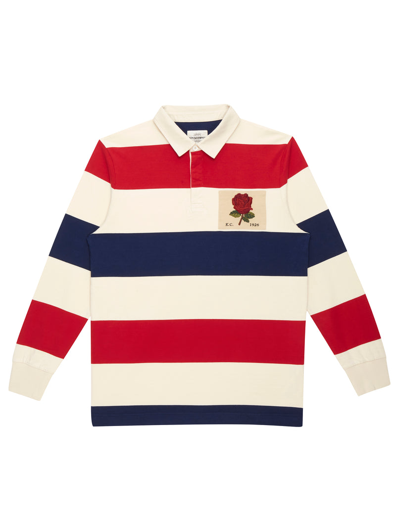 Signature Rose Rugby Shirt