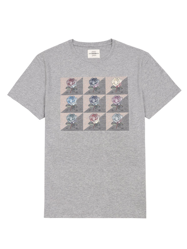 Printed Multi Patch T-Shirt