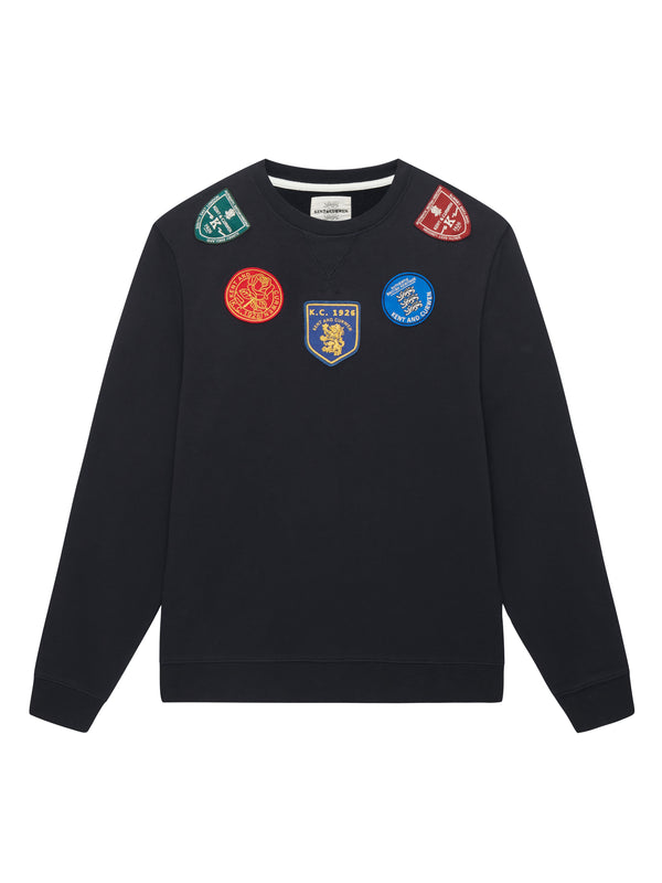 Multi Patch Sweatshirt