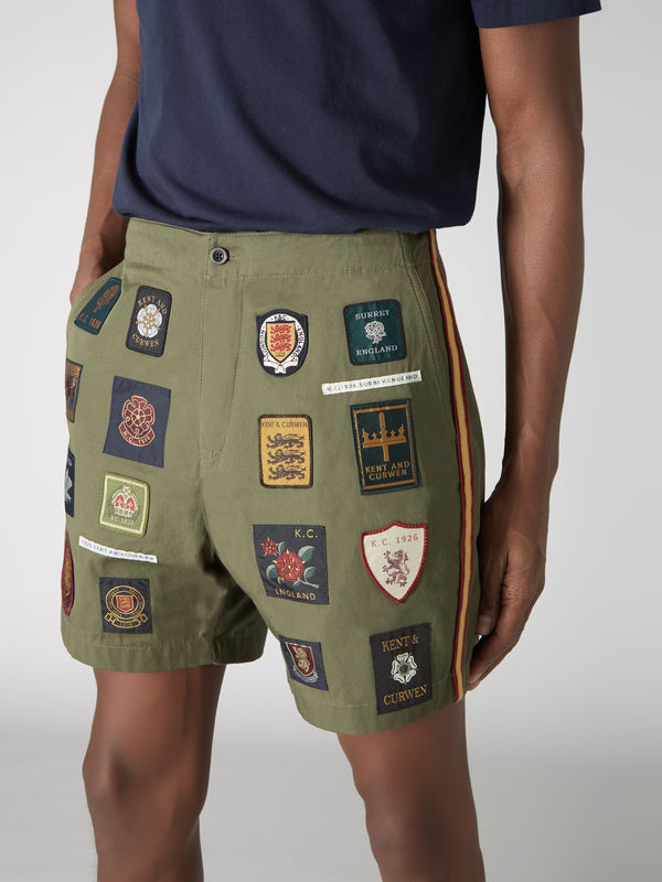 Badged Shorts