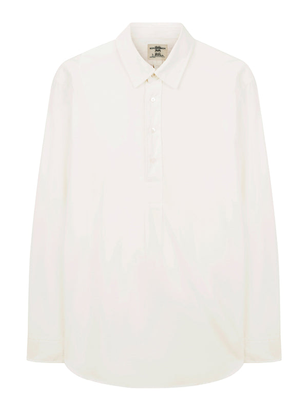 Detachable Collar Tunic Shirt