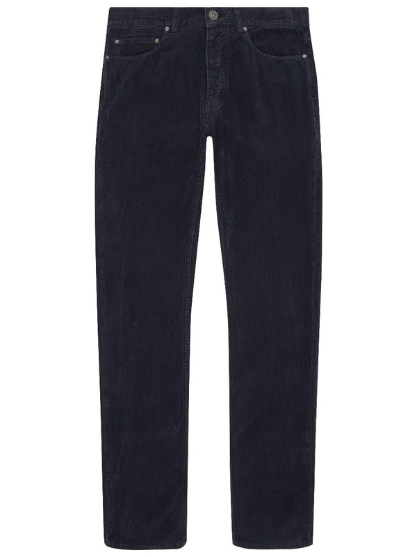 Washed Needlecord Trousers