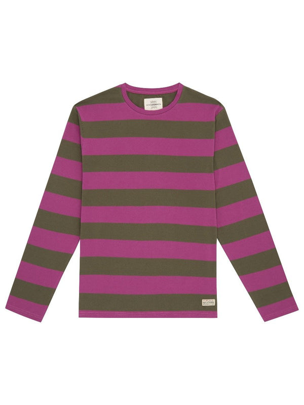 Hoop Striped Long Sleeve T-shirt