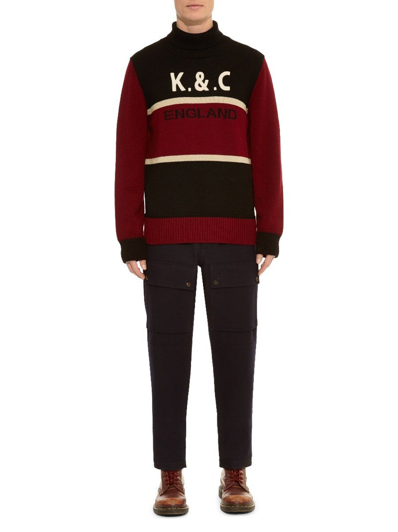 K&c Wool Sports Sweater