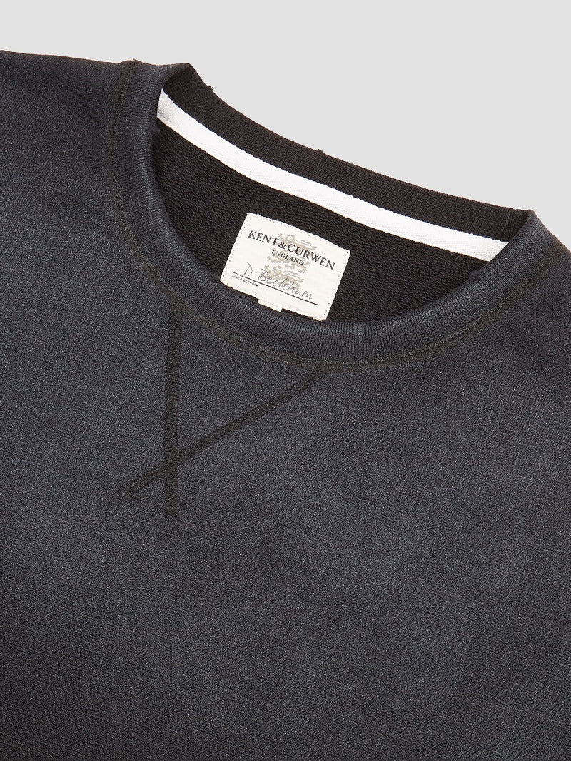Vintage Wash Sweatshirt - Black