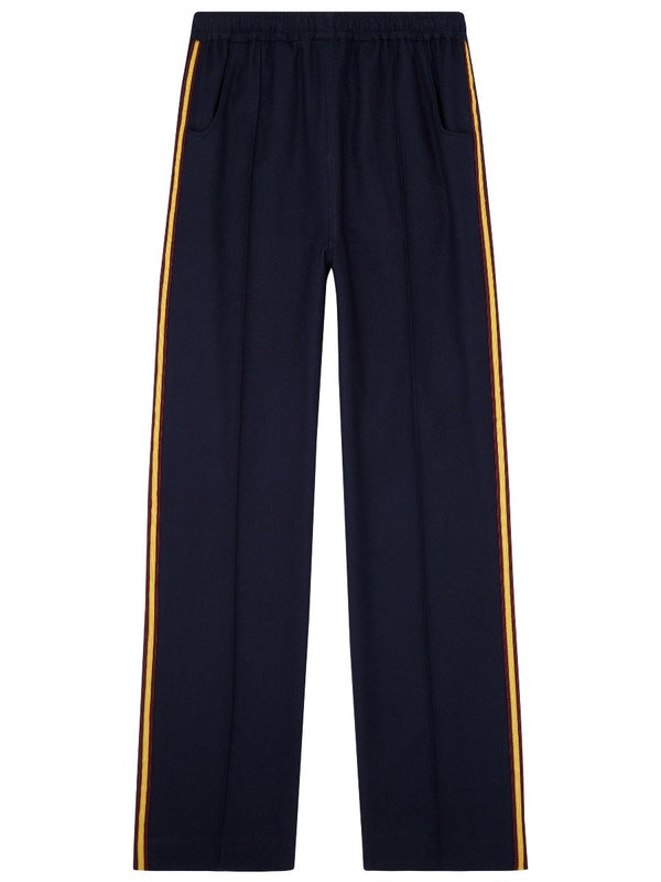 Taped Wool Cricket Trousers