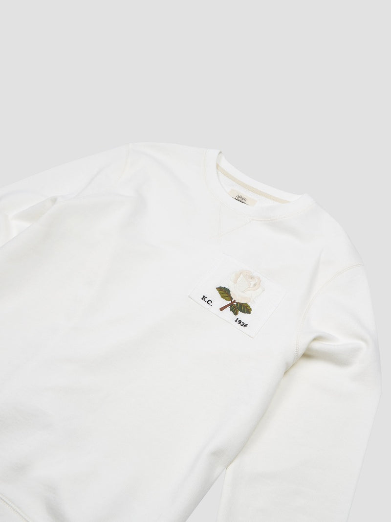 1926 Rose Embroidered Sweatshirt