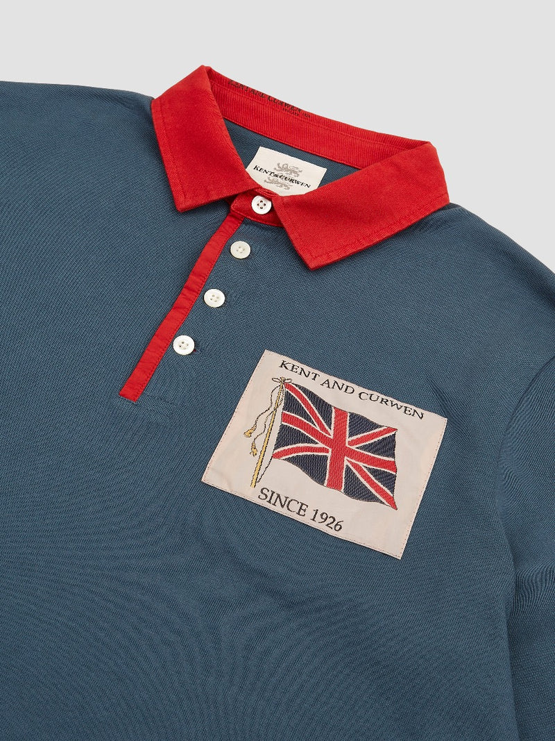 Union Jack Patch Rugby