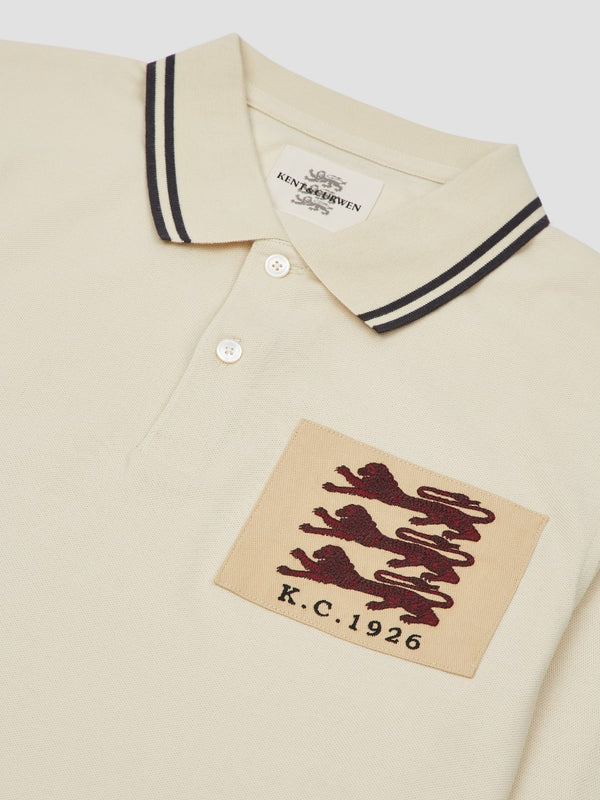 Three Lions Contrast-Tipped Polo
