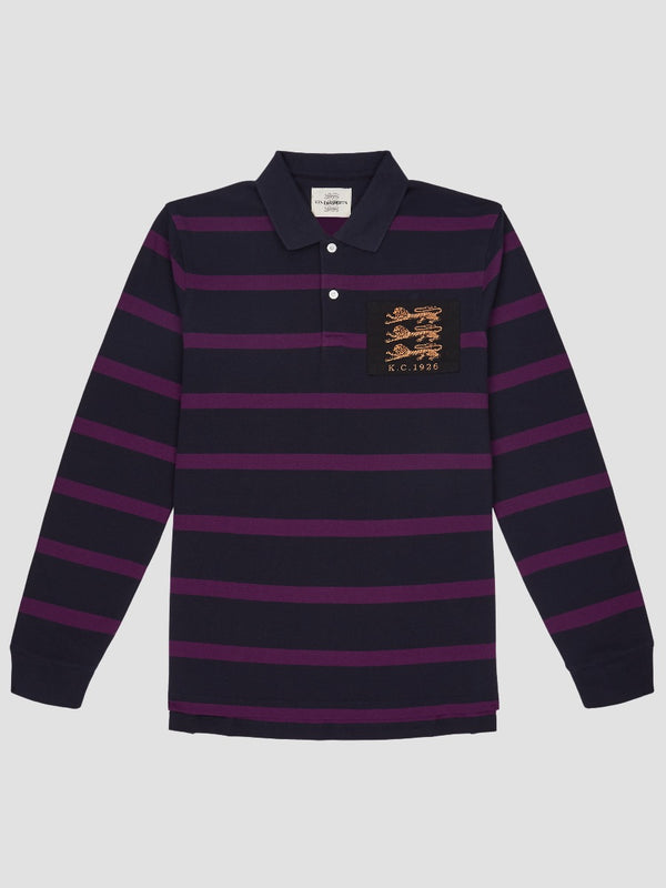Three Lions Striped Polo