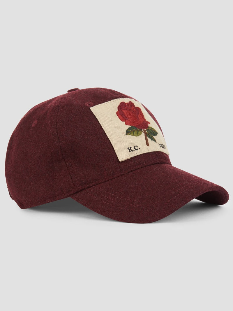 Classic Rose Patch Cap