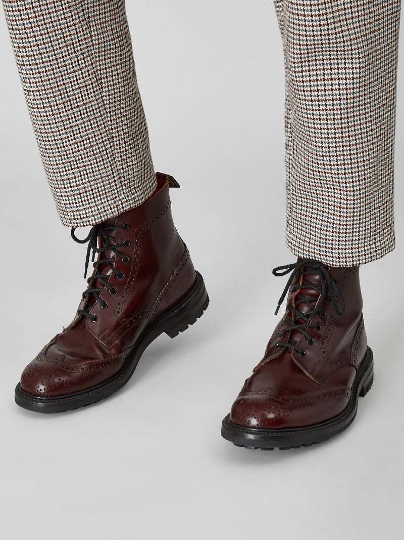 KC X Tricker's Country Brogue Boots