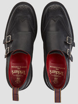KC X Tricker's Double Buckle Monk Shoes