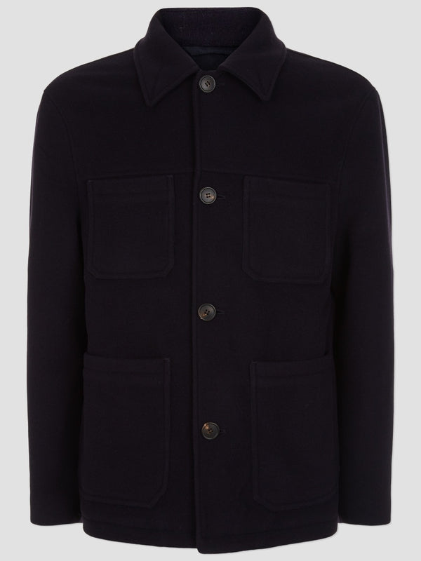 Four Pocket Wool Jacket