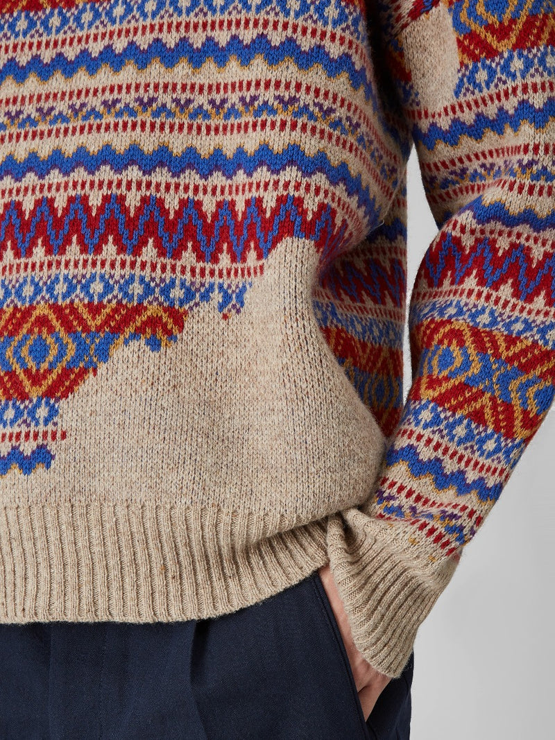 Wool Fairisle Sweater