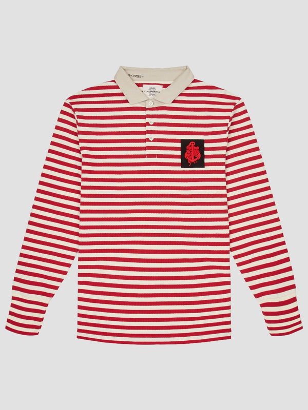 Vintage Striped Rugby Shirt