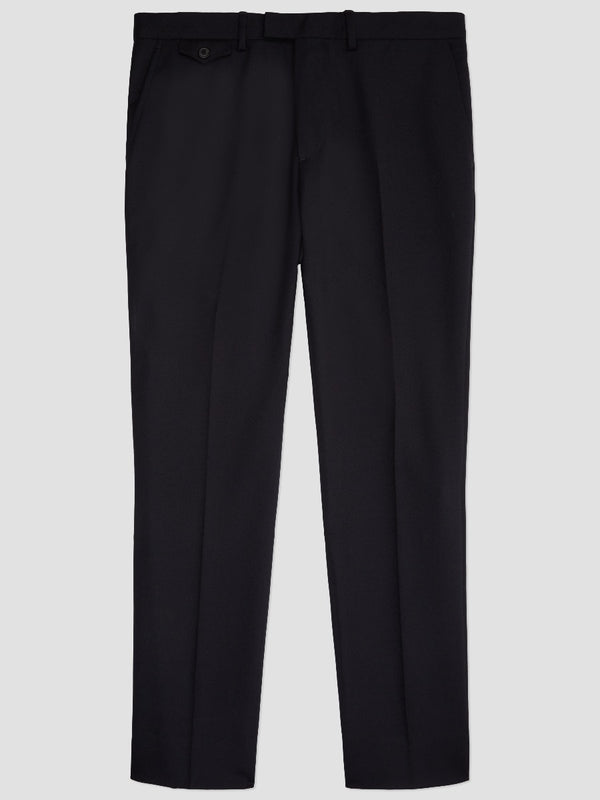 WOOL TROUSER WITH POCKET DETAIL