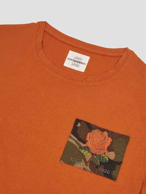 Camo Rose Patch T-Shirt
