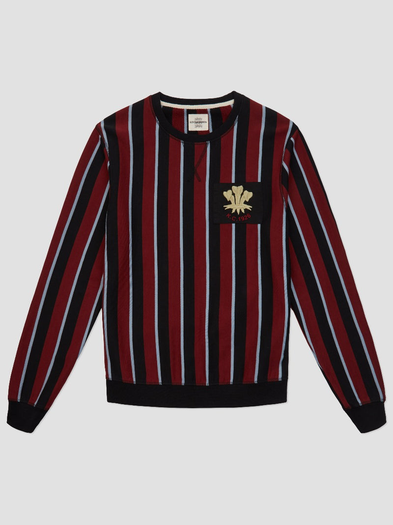 PRINCE OF WALES PATCH SWEATSHIRT