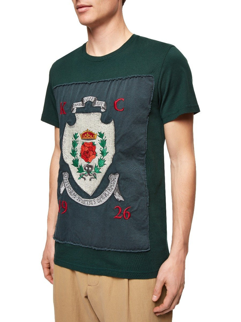 Royal Rose Embroidered T-shirt