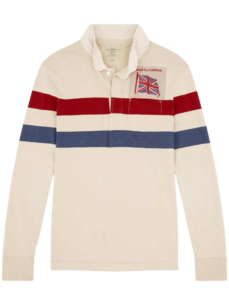 Racing Striped Rugby Shirt