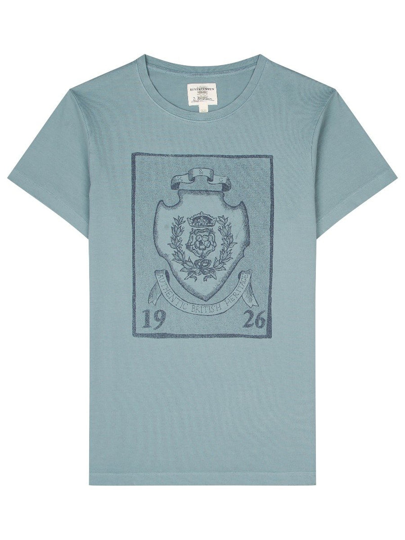 Pin Badge Crest T-shirt