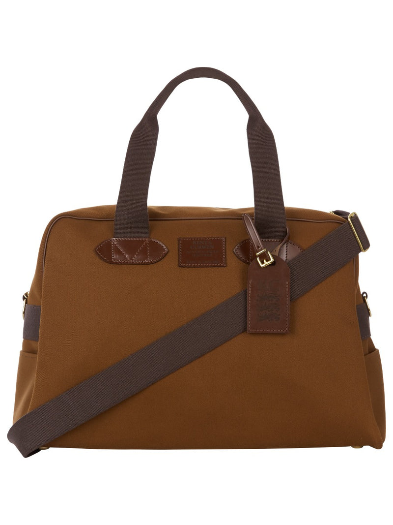 Canvas And Leather Weekend Holdall