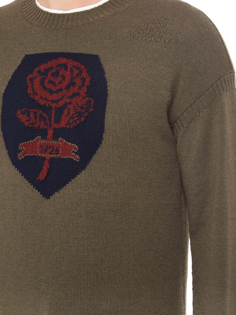 Rose Knitted Crewneck