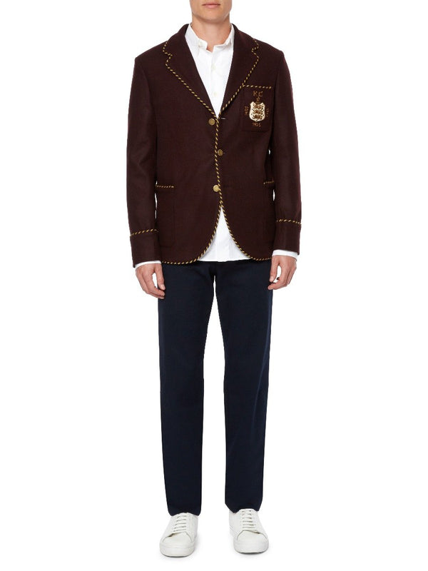 Bullion Wool Blazer
