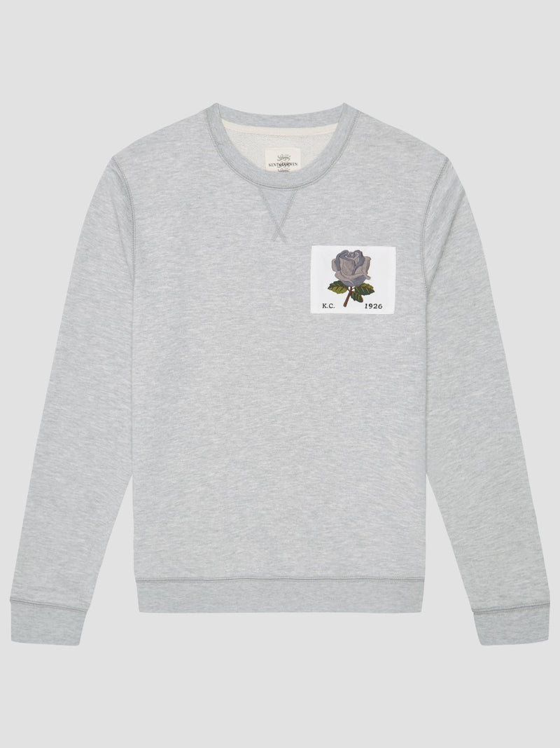 New 1926 Rose Embroidered Sweatshirt