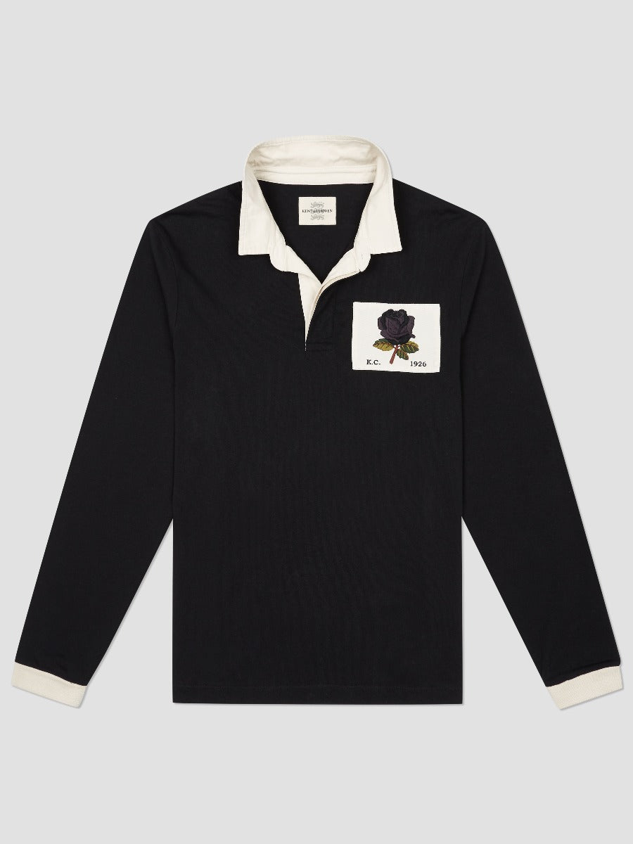 Iconic Rose Embroidered Rugby