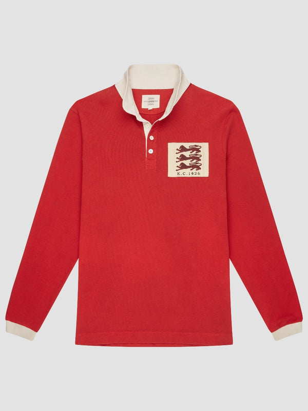 Three Lions Embroidered Rugby
