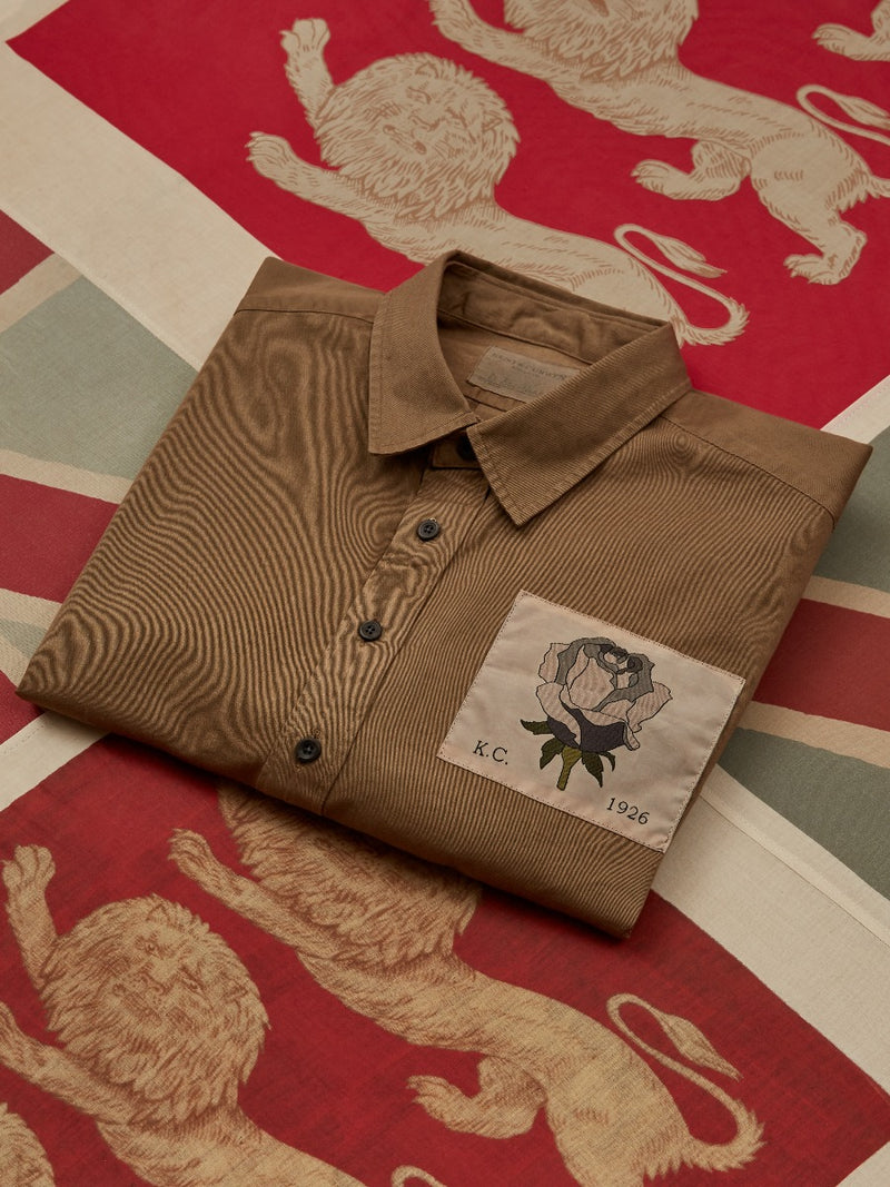 Exclusive Patch Military Overhead Shirt
