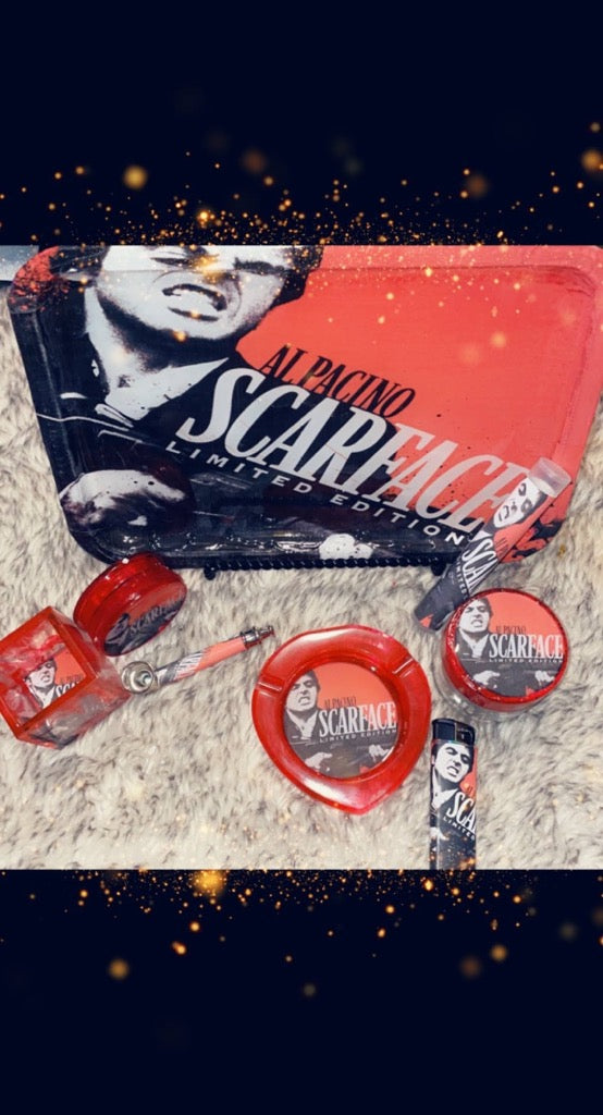 Scarface Rolling Tray Sets